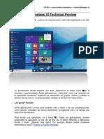 Cómo Usar Windows 10 - Parte 1