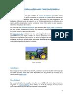 Repuestos Agrícolas Para Las Principales Marcas de Tractores