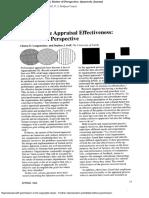 Performance Appraisal Effectiv