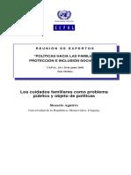 Aguirre Rosario, Los Cuidados Familiares 2005