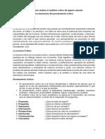 1. Análisis Crítico de Papers Formato