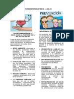 FACTORES DETERMINANTES DE LA SALUD - salud y desarrollo infantil.docx