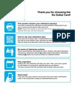 Guidebook Dubai