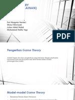 PPT Model Stokastik Kelompok 4 (Game Theory)