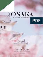 Osaka Tarifa 2018
