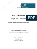 Hate Crime Against People With Disabilities