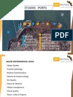 Technical Studies for port construction
