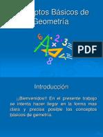 Conceptos báscos en geometría