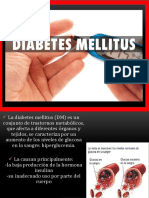 Diabetes Mellitus. Lic Jhonatanppt