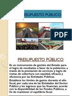 Power Point Presupuesto Público