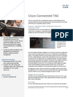 Cisco Connected TAC at a Glance WUG Only