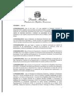 Requisitos Que Debe Reunir El Funcionario Que Dirija Las Oficinas o Secciones Comerciales de Las Embajadas y Consulados de La República Dominicana