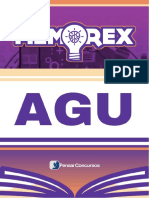 Amostra Memorex AGU 2018