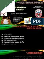 Enfoque Al Analisis Del Diceño de Auditoria Sayco Guber 2