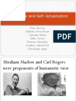 Humanistic and Self Actualization