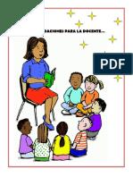 recomendaciones docente
