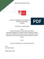 Manual de Procedimientos Para Entidades Reguladas Por CONAMI