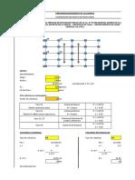 1.0 Predimensionamiento de Columnas Modulo