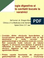 Patologia Digestiva Si Afectiunile Cavitatii Bucale La Varstnici