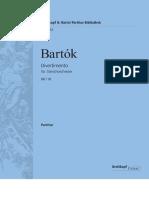 Barotk Divertimno for Strings Orchestra