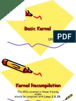Kernel Re Compilation