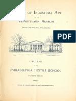 Textile School Cat 9495 Penn