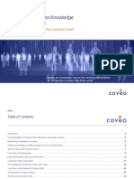Coveo Measuring Return on Knowledge in a Big Data World