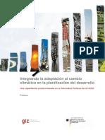 El Programa de la Protección Climática de la GIZ