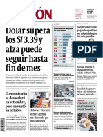 Dolar Sigue Subiendo Gestion (Lima)