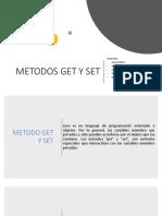Metodos Get y Set