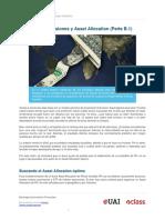 Carteras de Inversiones y Asset Allocation Parte b