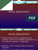 NIVEL SEMANTICO SINTETIZADO