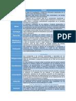 Etapas, Vertientes y Tipos de Programas