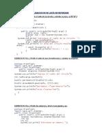 Ejercicicos de Java en Netbeans