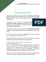 Processo Penal - aula Marcelo Machado