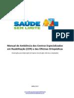 Manual de Ambiencia Dos Centros Especializados Em Reabilitacao e Das Ofi...
