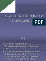 Test de Atencion D-2