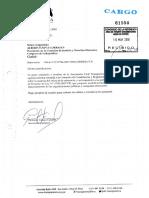 Oficio remitido por Transparencia a Comisión de Justicia