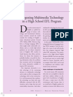 Integrating Multimedia Technology in a High School EFL Program.pdf