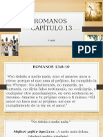 ROMANOS 13:8-10