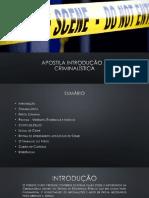 Apostila Introducao a Criminalistica