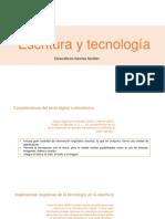 M11.EP.Escritura y tecnolog�a