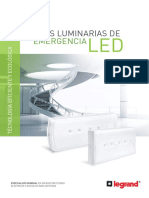 Luminarias de Emergencia Led