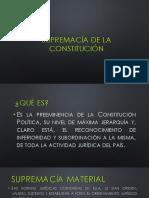 5. Supremacía de La Constitución