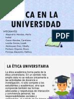 Etica en La Universidad