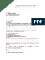 Questões -Mamíferos - Prof. Adão Marcos Graciano Dos Santos