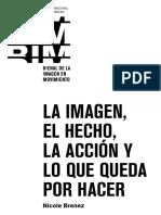 BRENEZ, Nicole - La Imagen, El Hecho, La Accion y Lo Que Queda Por Hacer