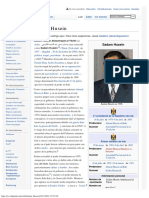 Biografia Sadam Husein