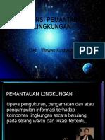 Kuliah Matrikulasi S3 Pemantauan Lingkungan