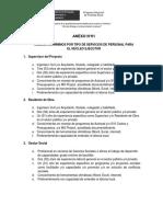 Anexo 01 - Requisitos Minimos Por Tipo de Servicios
